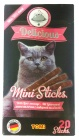 133.061 TOMI Delicious Mini Sticks мини палочки для кошек с Ливерной колбасой